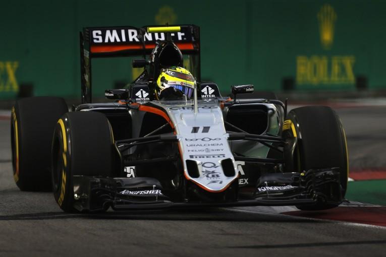 F1 | ペレス「原因不明のステアリングトラブル。とても心配」:Fインディア シンガポール金曜