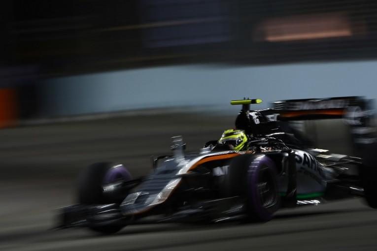 F1   ペレス、ふたつの違反で合計8グリッド降格のペナルティ