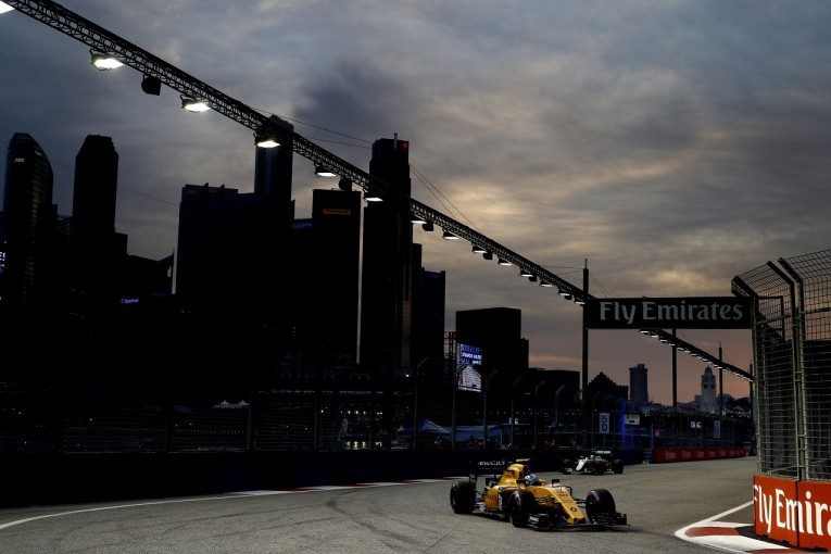 F1 | パーマー「タイヤをうまく使えず、期待外れの予選に」:ルノー シンガポール土曜