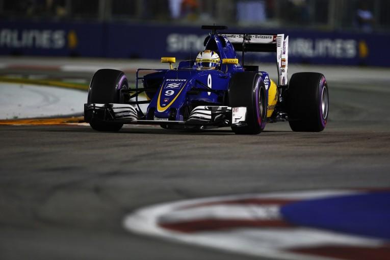 F1   エリクソン「Q2に進出できてうれしい。努力が報われた」:ザウバー シンガポール土曜