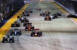 F1   緊迫のトップ4バトル。ロズベルグが0.5秒差でリカルドを抑え、ランクトップ返り咲き