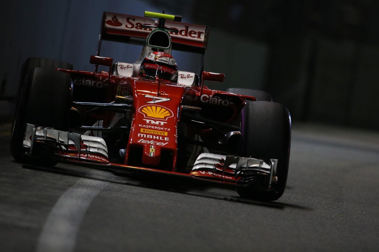 2016年第15戦シンガポールGP キミ・ライコネン(フェラーリ)