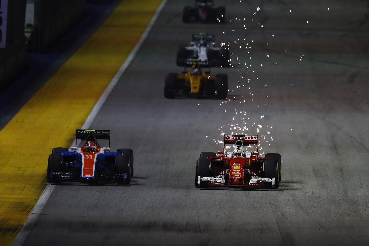 2016年第15戦シンガポールGP セバスチャン・ベッテル(フェラーリ)