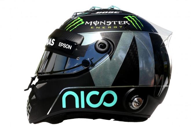 F1   ニコ・ロズベルグ 2016年のヘルメット1