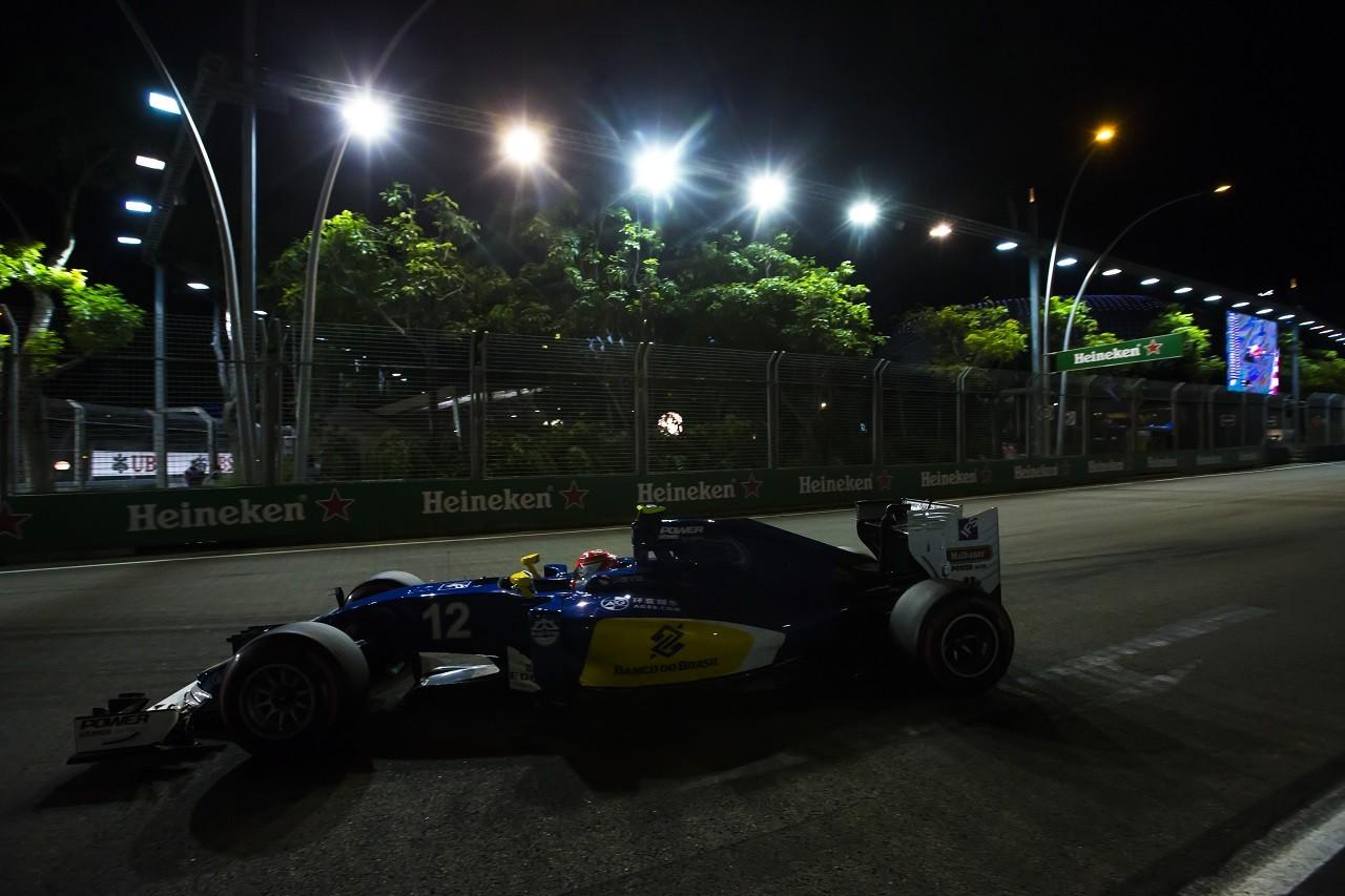 2016年第15戦シンガポールGP フェリペ・ナッセ(ザウバー)