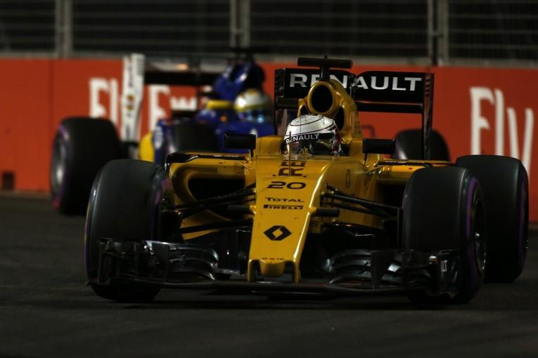F1 | マグヌッセン「今季2回目の入賞。完璧なレースをした」:ルノー シンガポール日曜