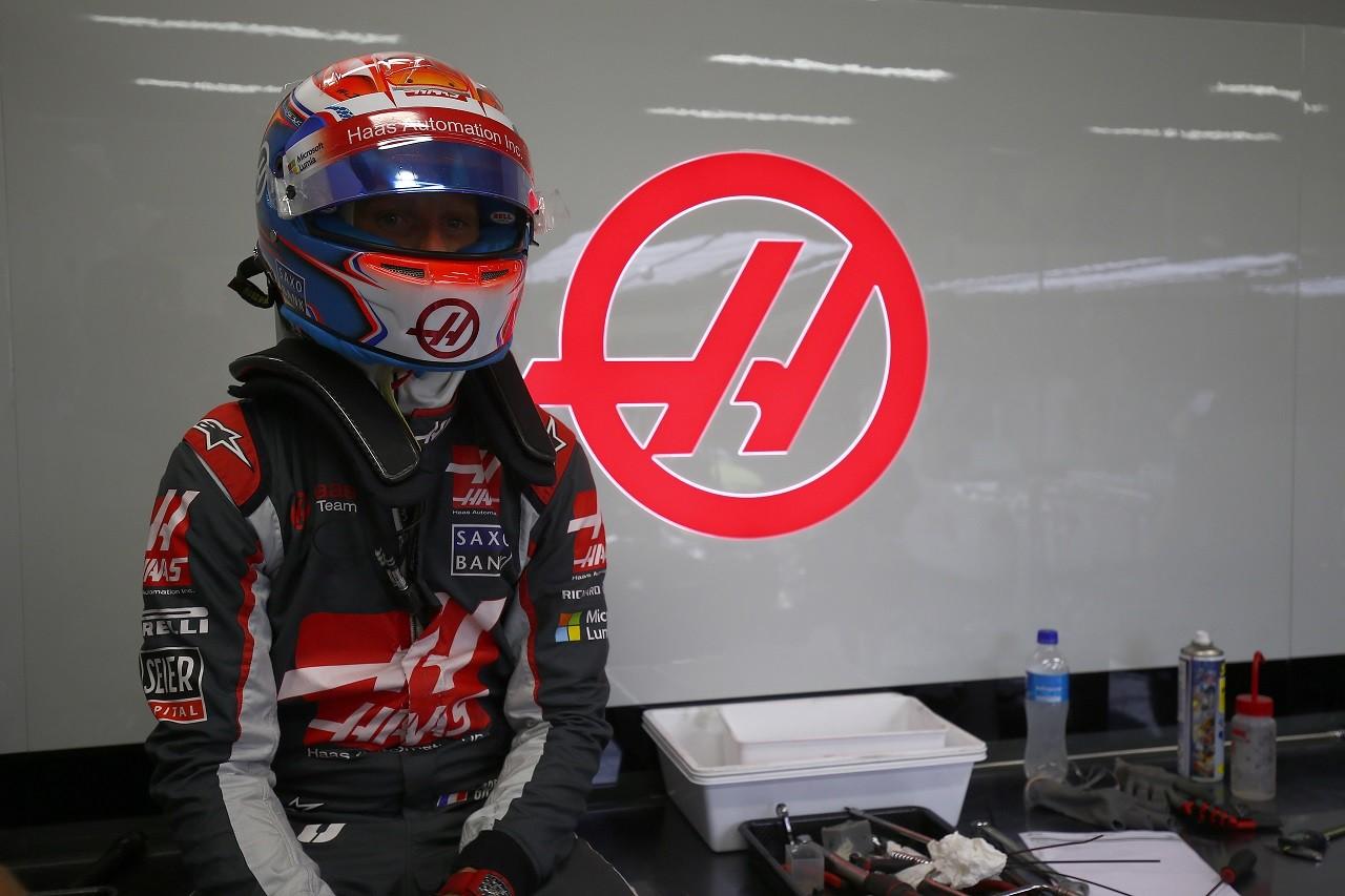2016年第15戦シンガポールGP ロマン・グロージャン(ハース)