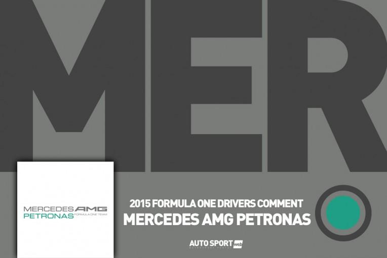 F1 | ハミルトン「明日は休んでロスコーと映画に行こうかな」:メルセデス金曜コメント