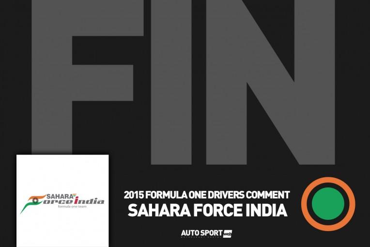 F1 | ヒュルケンベルグ「オーバーテイクが失敗し接触」:Fインディア日曜コメント