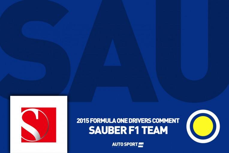 F1 | ナッセ「清掃車のトラブルによってひどい路面状態に」:ザウバー金曜コメント