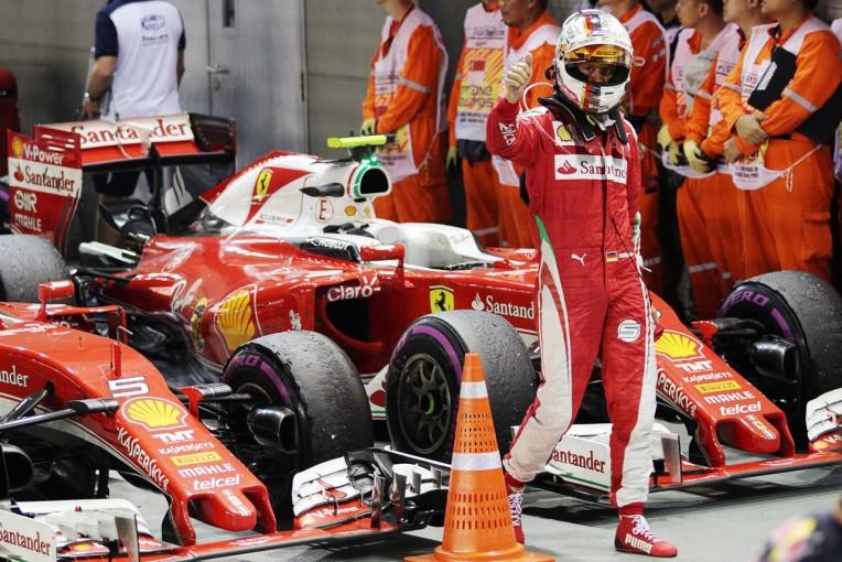 """F1   """"ドライバー・オブ・ザ・デー""""は最後尾からの猛追を披露したセバスチャン・ベッテルが受賞"""