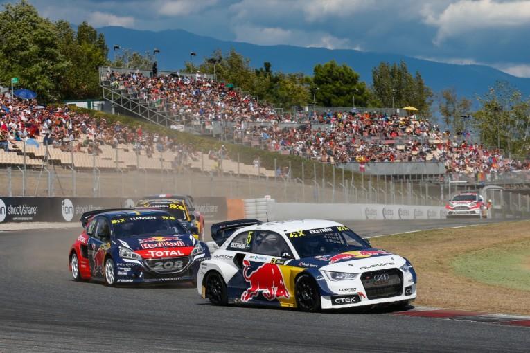 ラリー/WRC   世界ラリークロス:エクストロームがバルセロナ制圧、ペター抜き選手権首位浮上