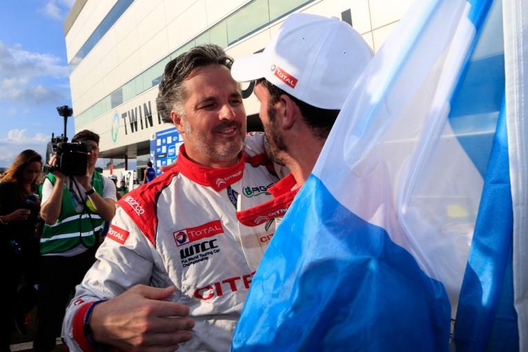 海外レース他   4度のWTCC王者イバン・ミューラーが引退を発表「理由は年齢じゃない」