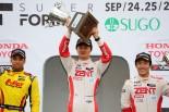国内レース他 | 全日本F3第15戦:山下健太がポール・トゥ・ウィン。逆転タイトル獲得へ大きく前進