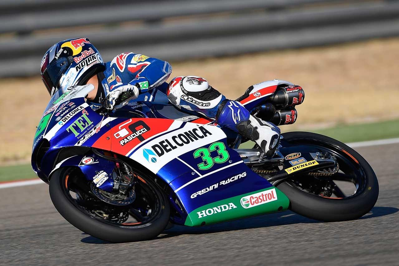 Honda MotoGP第14戦アラゴンGP Moto3クラス予選日レポート
