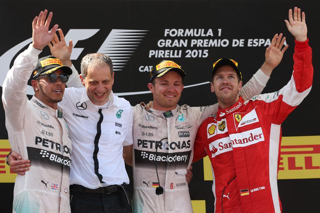 F1   F1スペインGP決勝 トップ10ドライバーコメント