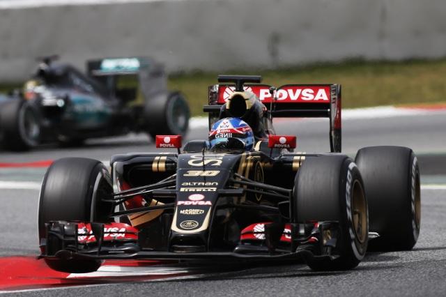 F1   パーマーが最後に逆転首位。100周走破のバトン4番手
