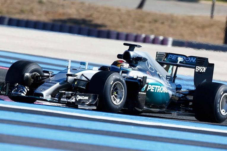 F1 | ピレリ「タイヤテスト用のマシンはダウンフォース不足」