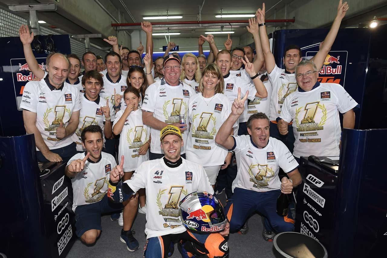 KTM MotoGP第14戦アラゴンGP Moto3クラス決勝日レポート