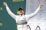 F1   ロズベルグが僚友下しV、熾烈な3位争いはマッサ制す