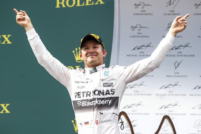 F1 | ロズベルグが僚友下しV、熾烈な3位争いはマッサ制す