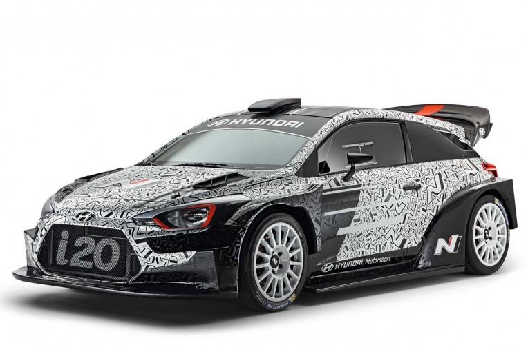 ラリー/WRC | ヒュンダイ、パリショーで17年型i20 WRCを公開。「過去2年の経験を詰め込んだ」