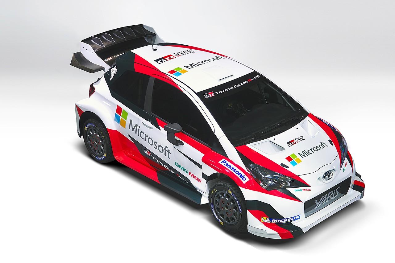 トヨタ、WRC活動に向けてマイクロソフトと協力関係を築く。新空力の画像も公開