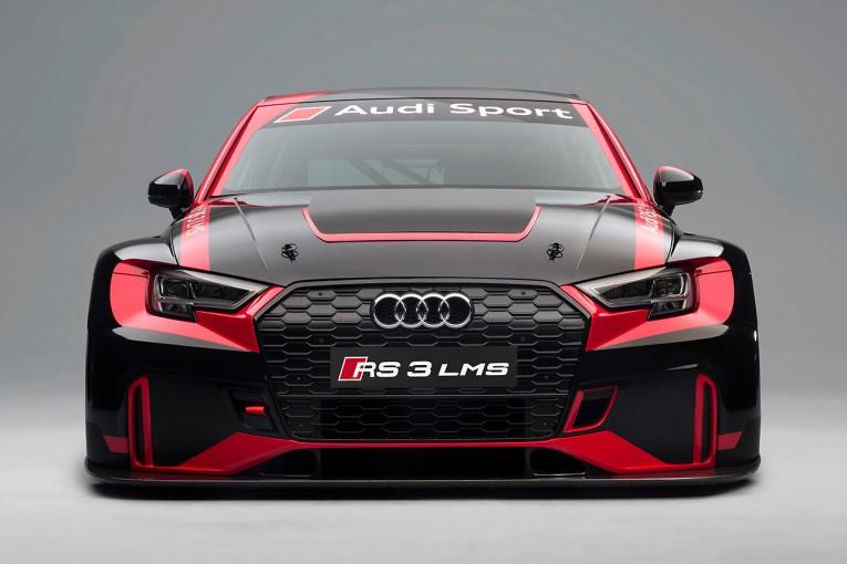 海外レース他 | アウディ、パリショーで400馬力超の『RS3』を発表。TCR向け『RS3 LMS』も同時公開