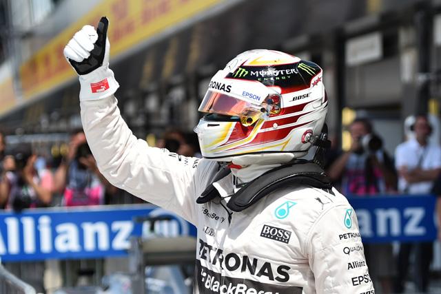 F1 | 母国GPのハミルトンがPP、ウイリアムズが2列目