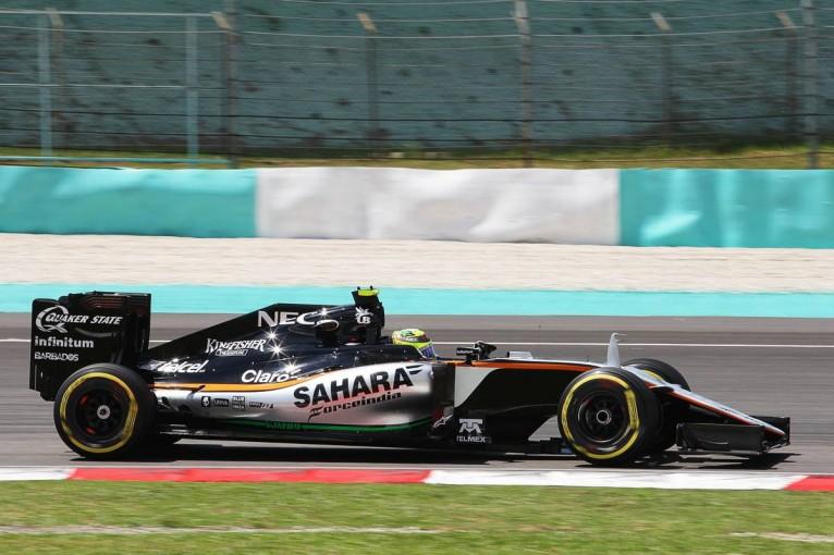 F1   ペレス「コース改修によって走るのが前より楽しくなった」:Fインディア マレーシア金曜