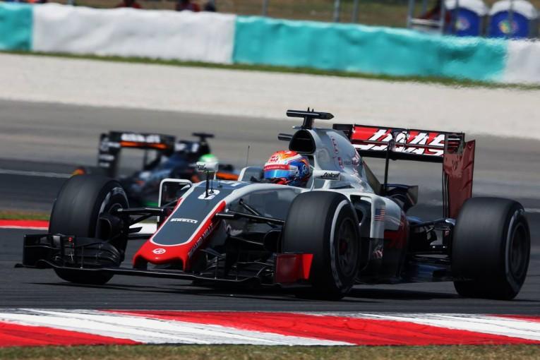 F1 | グロージャン「バランスを見いだせず苛立った」:ハースF1 マレーシア金曜