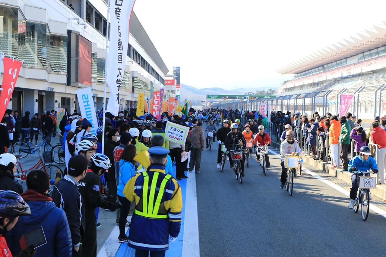 今年も開催! 富士スピードウェイのスーパーママチャリグランプリは1月7日開催