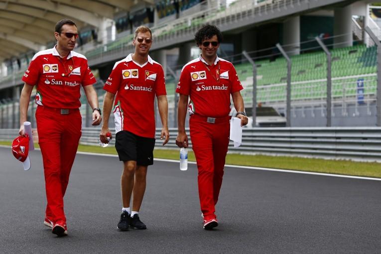 F1 | ベッテル「勝てると断言できる強さはない。ただチャンスはある」:フェラーリ マレーシア金曜