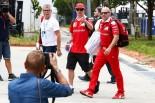 F1 | ライコネン「驚いた。車の感触は理想から程遠いのに、速いんだ」:フェラーリ マレーシア金曜