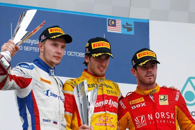 海外レース他 | 【順位結果】GP2第10戦マレーシア決勝レース1