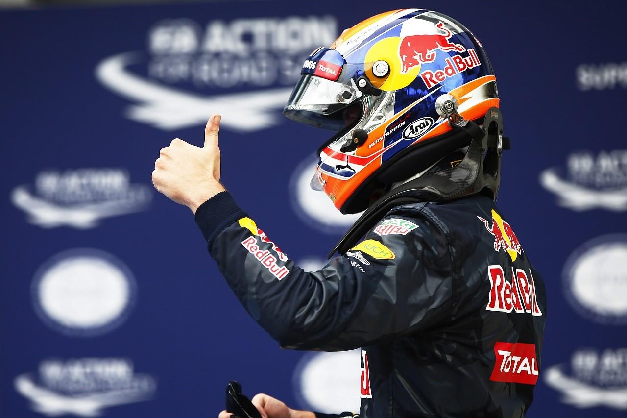 2016年第16戦マレーシアGP マックス・フェルスタッペン(レッドブル)