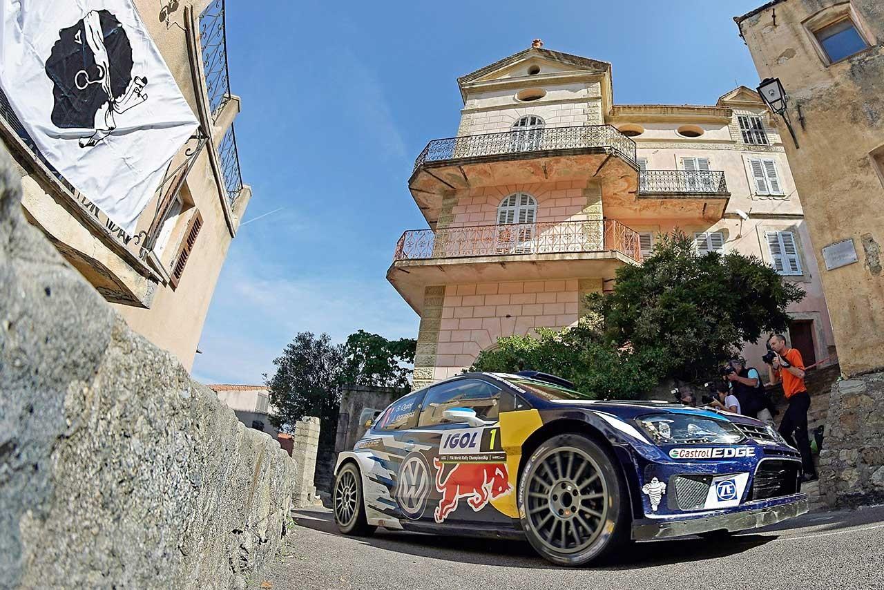 【順位結果】WRC第10戦ツール・ド・コルス SS8後 暫定結果