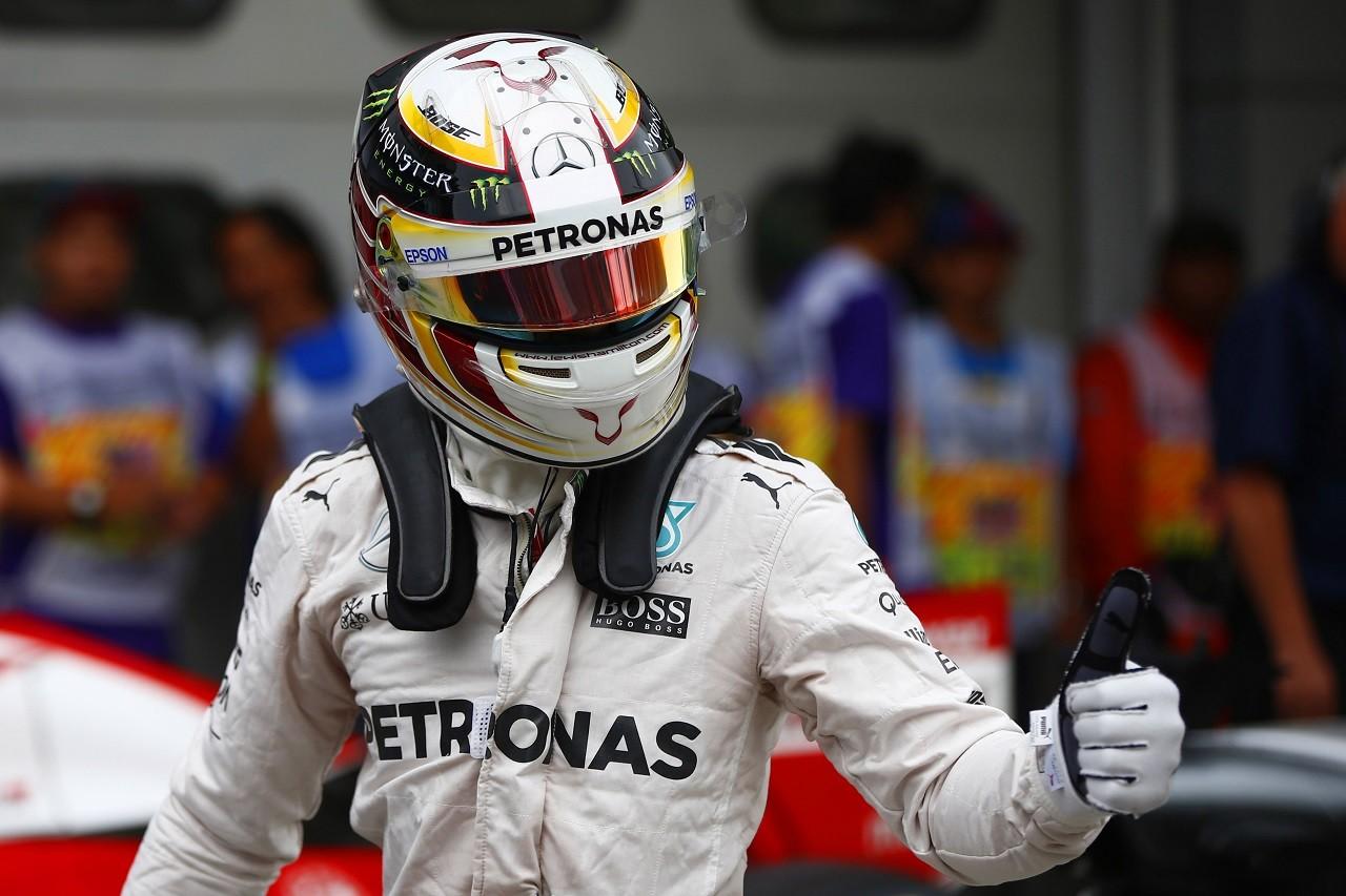 2016年第16戦マレーシアGP ルイス・ハミルトン(メルセデス)