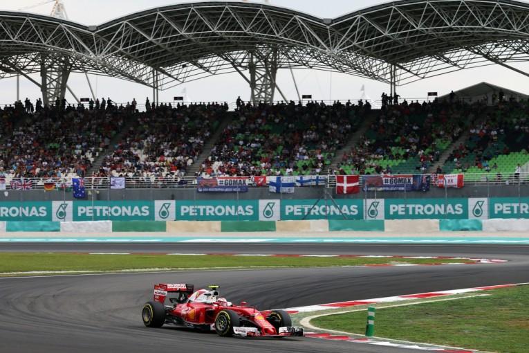 F1   ライコネン「再舗装によって予測できないレースに」:フェラーリ マレーシア土曜