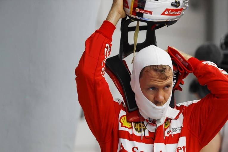 F1   ベッテル「レッドブルには勝てると思っていたのに」:フェラーリ マレーシア土曜