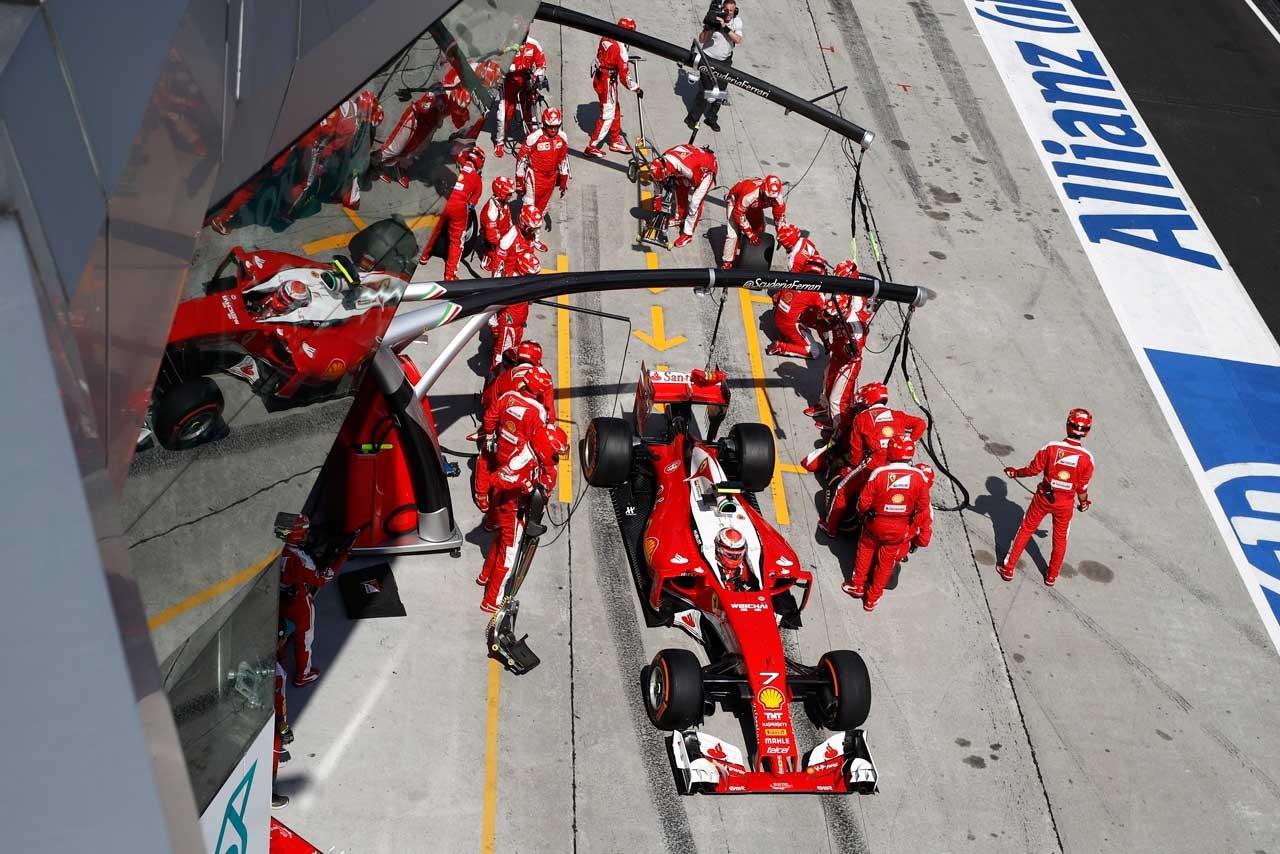 2016年第16戦マレーシアGP キミ・ライコネン(フェラーリ)