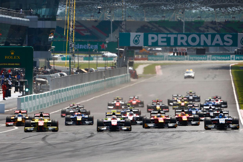 【順位結果】GP2第10戦マレーシア決勝レース2