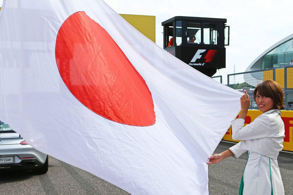 F1第17戦日本GP、TV放送&タイムスケジュール