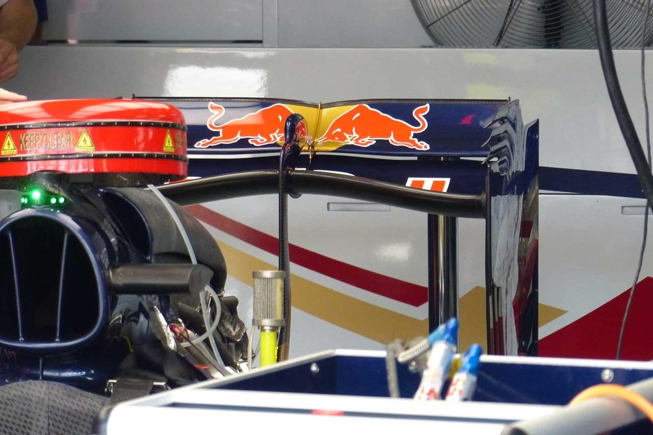 F1メカUPDATE:新型リヤウイング導入も、マレーシアで苦戦したトロロッソ