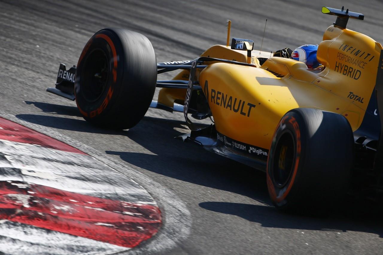 2016年第16戦マレーシアGP ジョリオン・パーマー(ルノー)