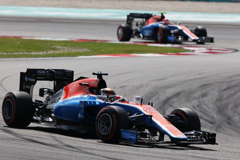 F1 | ウェーレイン「いい感じに温まったドリンクと一緒に走り切ったタフなレース」:マノー マレーシア日曜