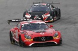 ブランパン・スプリント第5戦を制したトリスタン・ボーティエ/フェリックス・ロゼンクビスト組88号車メルセデスAMG GT3