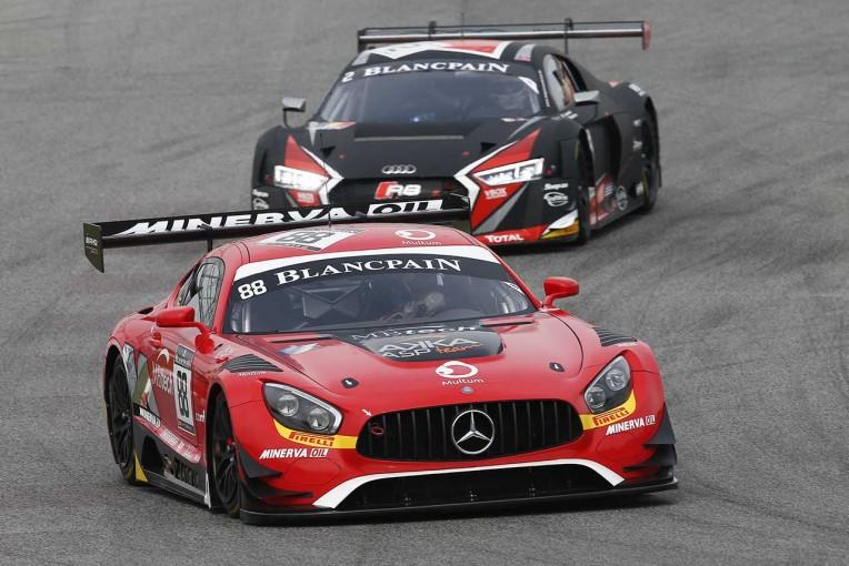 海外レース他 | ブランパン・スプリント第5戦:88号車メルセデスが今季初優勝。年間王座はHTPモータースポーツの手に