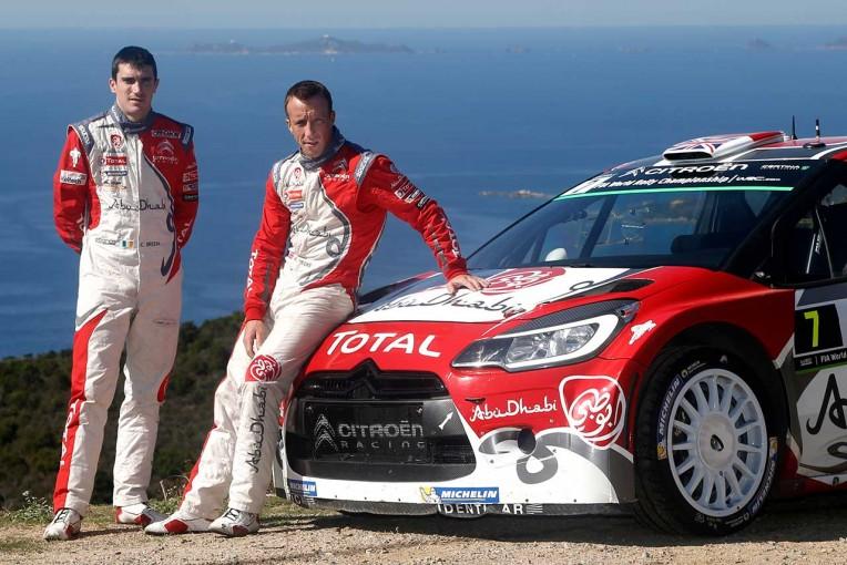 ラリー/WRC | シトロエン、17年~18年のWRCドライバー布陣を発表