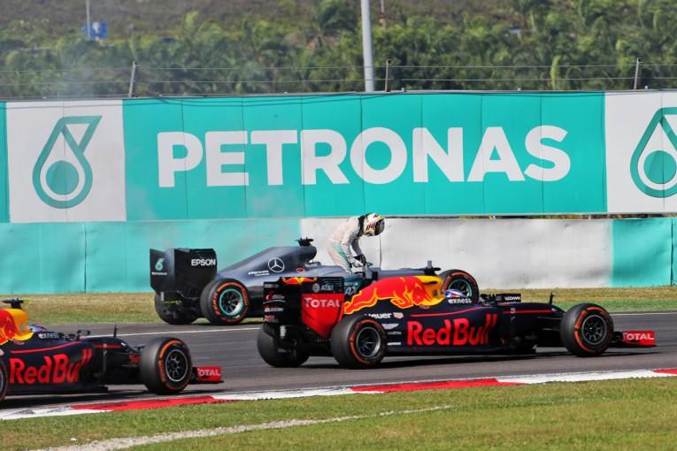 F1 | レッドブル「我々の強さがハミルトンのトラブルを誘発した」